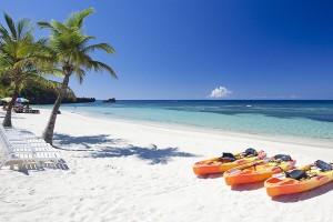 kayaks at tabyana beach