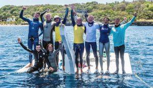 freediving record holder Richard Collett